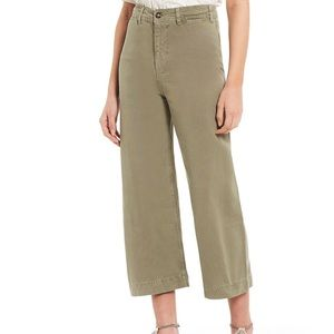 Free People Patti Crop Cotton Pants